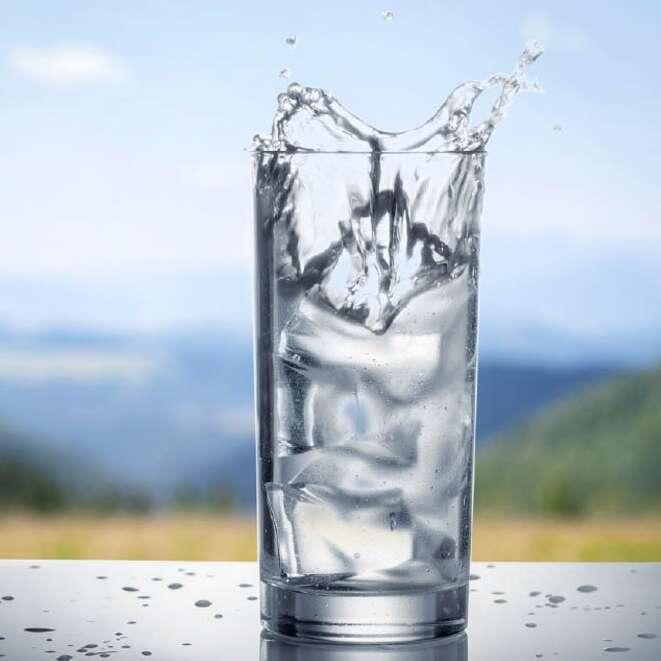 image verrre eau